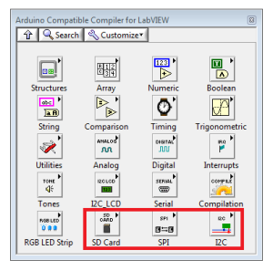 Arduino Compatible Compiler For LabVIEW Now Includes I2C